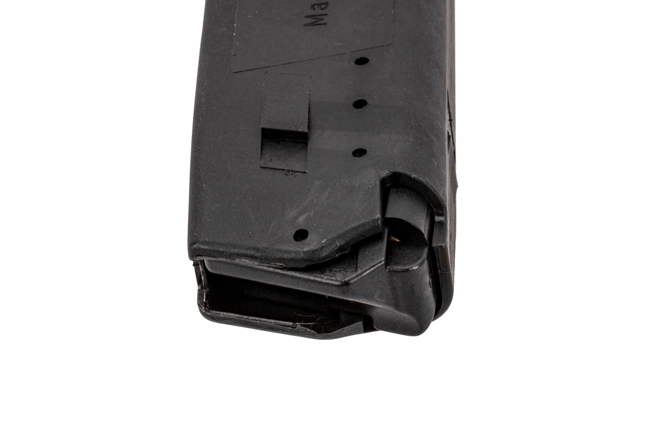 The H&K USP 9mm 15 round Magazine features an easily removable polymer base plate