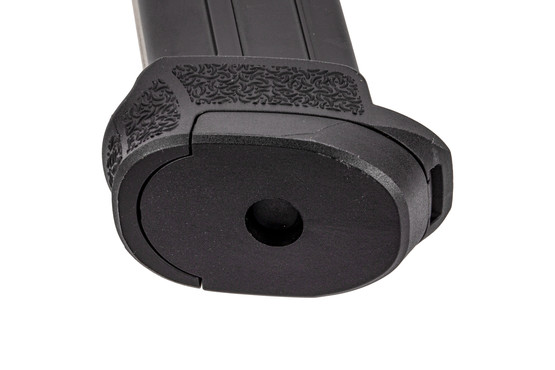 The Heckler and Koch 13-round VP9 SK 9mm magazine features rear witness holes