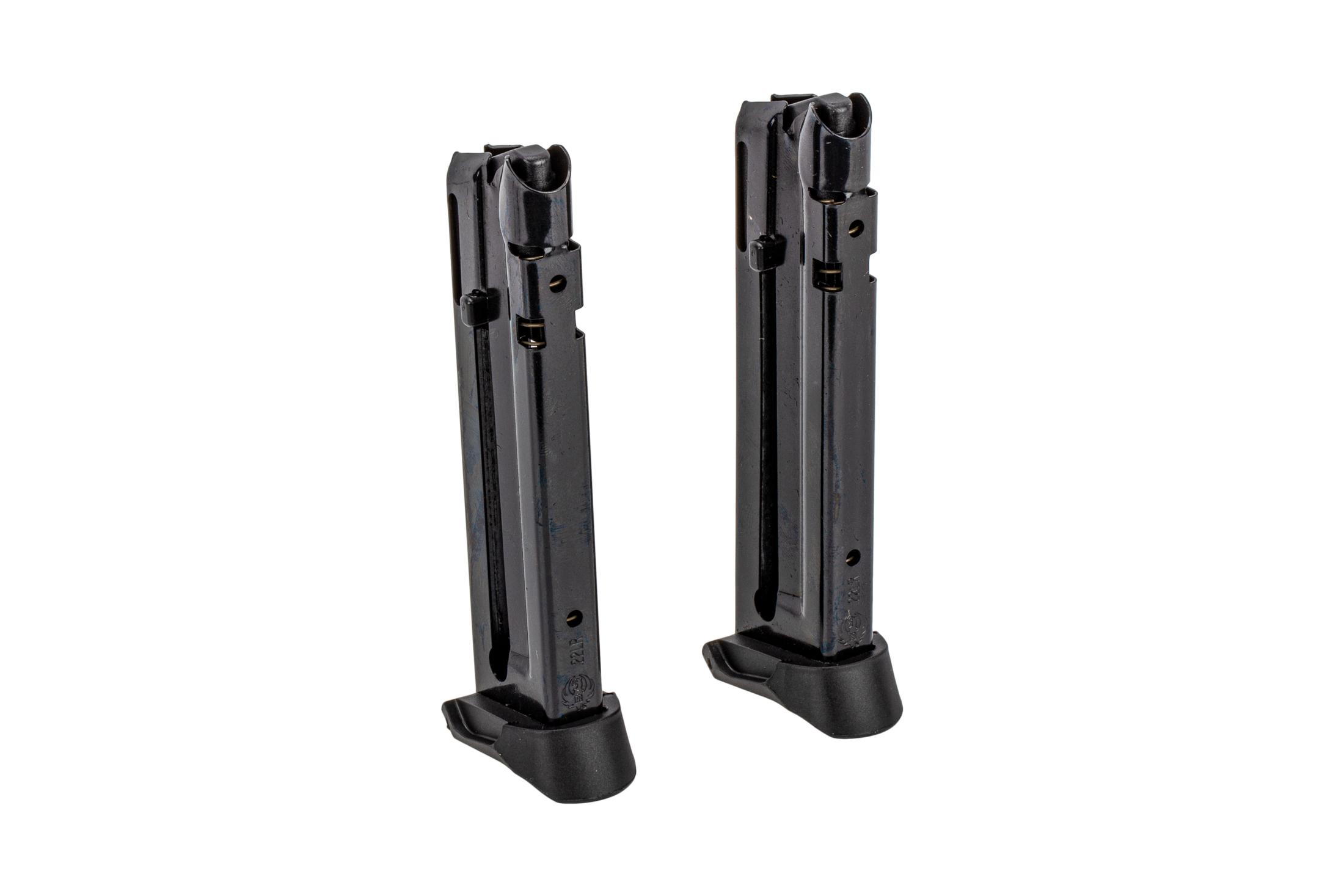 Ruger 22-round .22 LR magazine for the SR22 is a highly reliable full capacity magazine with tough steel body.