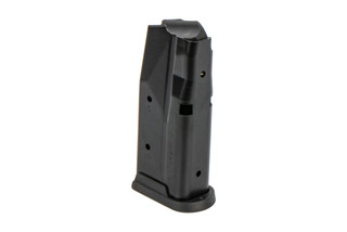 SIG Sauer 9mm P365 magazine is a sturdy steel magazine holds 10 rounds of ammunition with a flush base plate.