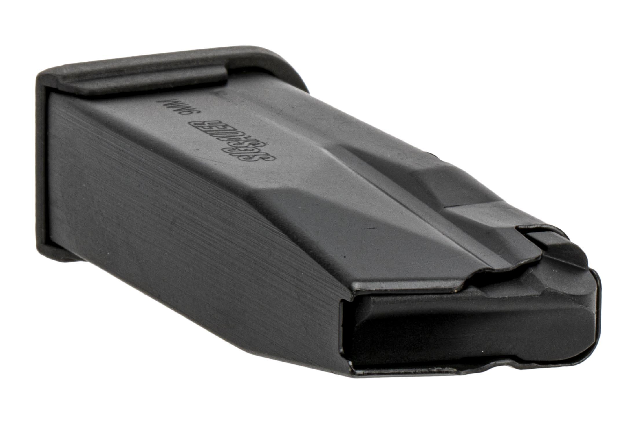 SIG Sauer P365 magazine is a full capacity 9mm magazine that holds 10-rounds.