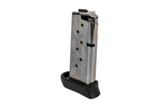 SIG Sauer 9mm P938 magazine is a sturdy steel magazine holds 7 rounds of ammunition with a finger extension base plate.