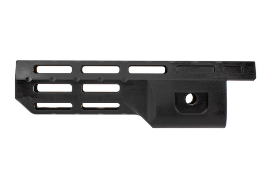 "Midwest Industries 8"" handguard for Ruger 10/22 takedown features M-LOK slots on 8 surfaces."