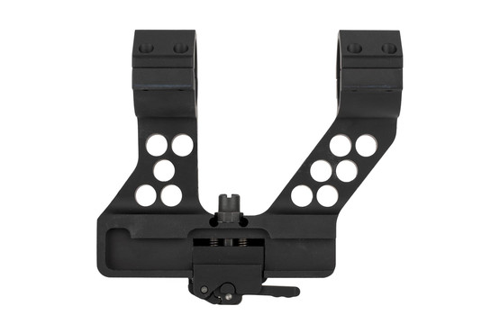 The Midwest Industries AK-47 side rail scope mount is extremely durable and offers return to zero capability
