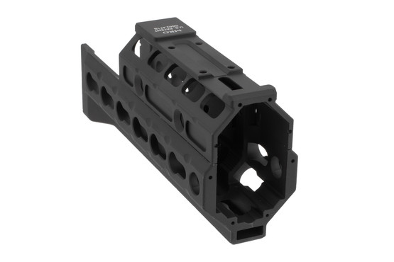 Midwest Industries Gen 2 Universal AK handguard with KeyMod mounting and MRO top cover.