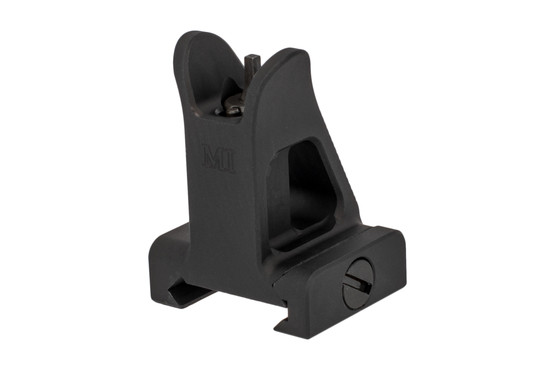 The Midwest Industries fixed front sight is machined from 6061 aluminum