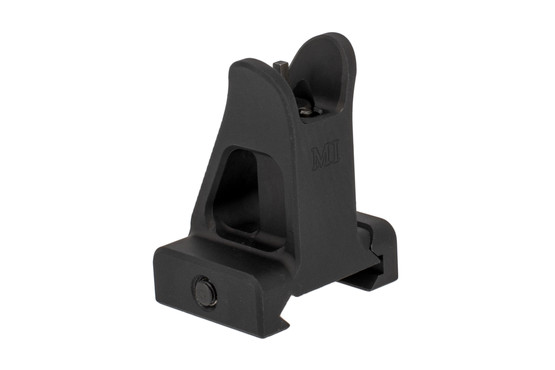 The Midwest Industries fixed a2 front sight is elevation adjustable with a standard sight tool