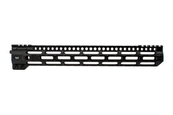 Midwest Industries lightweight free float handguard 14 is machined from 6061 aluminum
