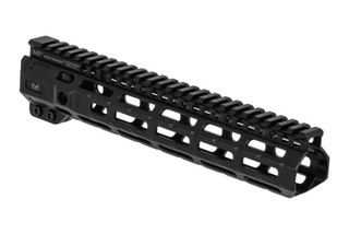 "Midwest Industries 10.5"" combat M-LOK AR15 rail with black anodized finish"