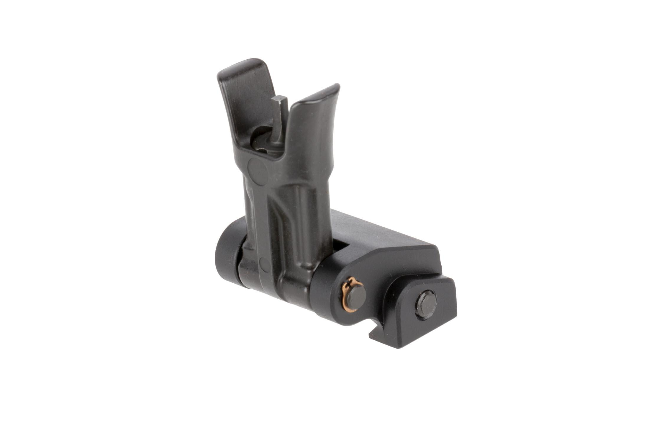 Midwest Industry Combat Rifle front sight uses standard A2 front sight posts for your favorite upgrades and sight tools