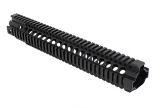 "Midwest Industries 14"" Quad Rail Handguard has a type 3 hard coat anodized finish"