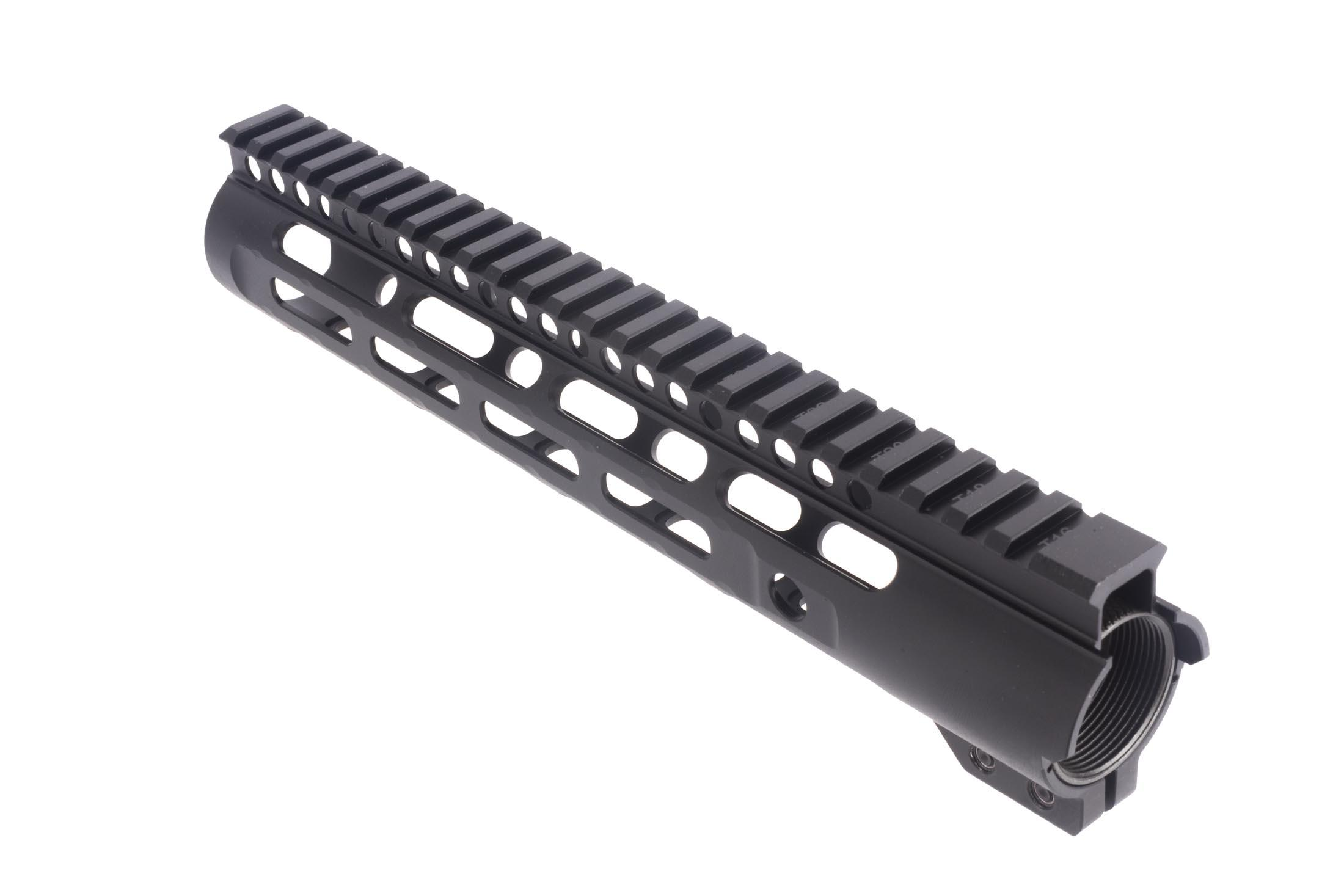 Midwest Industries free float 10.25in Slim Line handguard features M-LOK accessory slots and multiple QD sling swivel cups