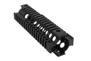 Midwest Industries T-Series quad rail features a free float design