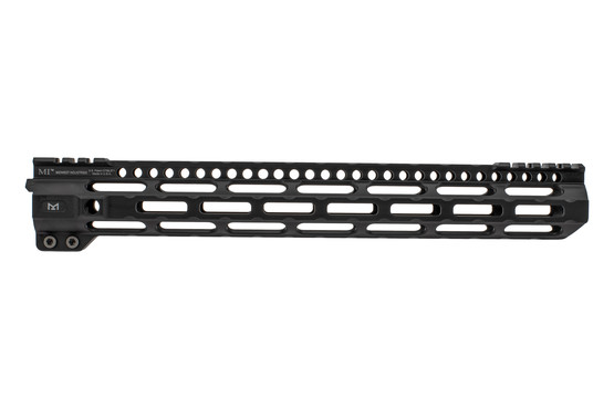 Midwest Industries Ultralight AR15 handguard is machined from 6061 aluminum