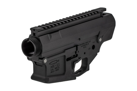 The Centurion Arms MK11 AR10 Billet receiver set is machined from 7075-T6 aluminum