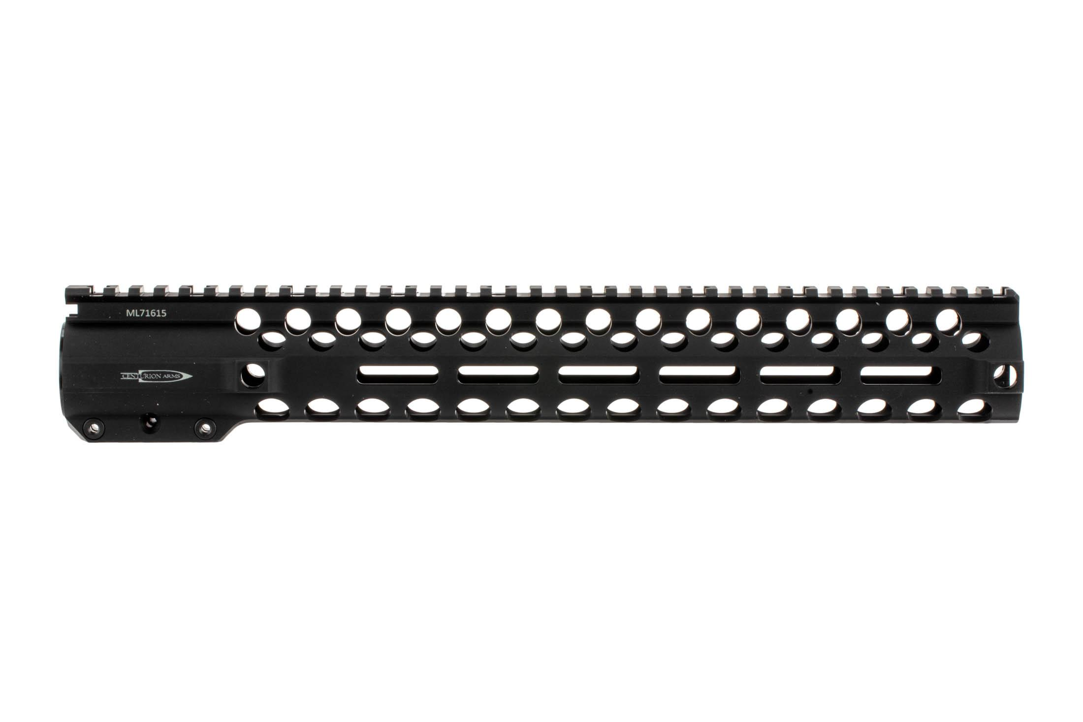 The Centurion Arms CMR 762 Free float handguard features M-LOK attachment slots