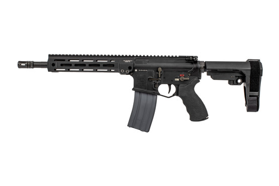 Lewis Machine and Tool MLC MARS Complete Pistol features a monolithic upper with M-LOK slots