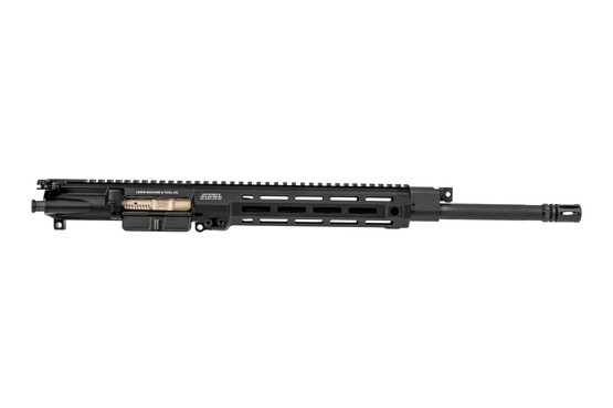Lewis Machine and Tool MLC complete AR15 upper receiver features a 16 inch chrome lined barrel
