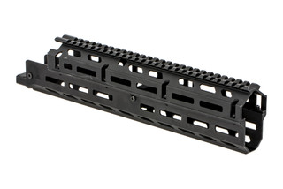 AimSports long Russian AK handguard is a two-piece option with M-LOK slots and a ful length M1913 top rail.