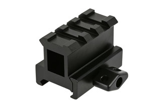 The Leapers UTG pro picatinny red dot riser mount allows you to cowitness with iron sights