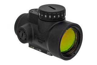 Trijicon MRO HD Red Dot Sight features a segmented circle dot reticle