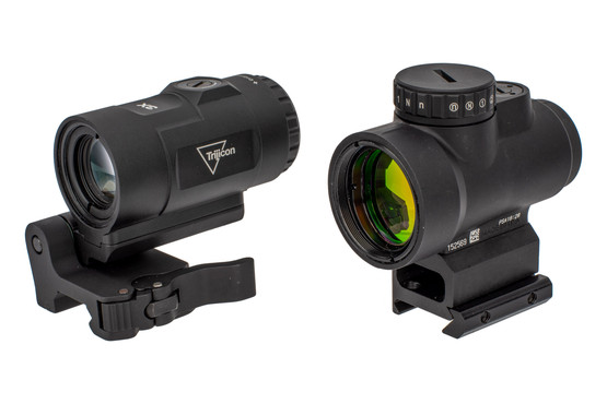 Trijicon MRO HD with 3x Magnifier combo includes a flip to side mount