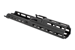Kinetic Development Group MREX Modular Receiver Extension for the SCAR with black anodized finish and M-LOK mounting.