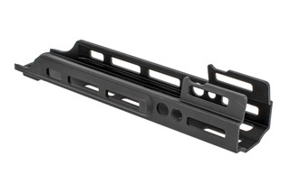 Kinetic Development Group 2.2in MREX Modular Receiver Extension for the SCAR with black anodized finish and M-LOK mounting.