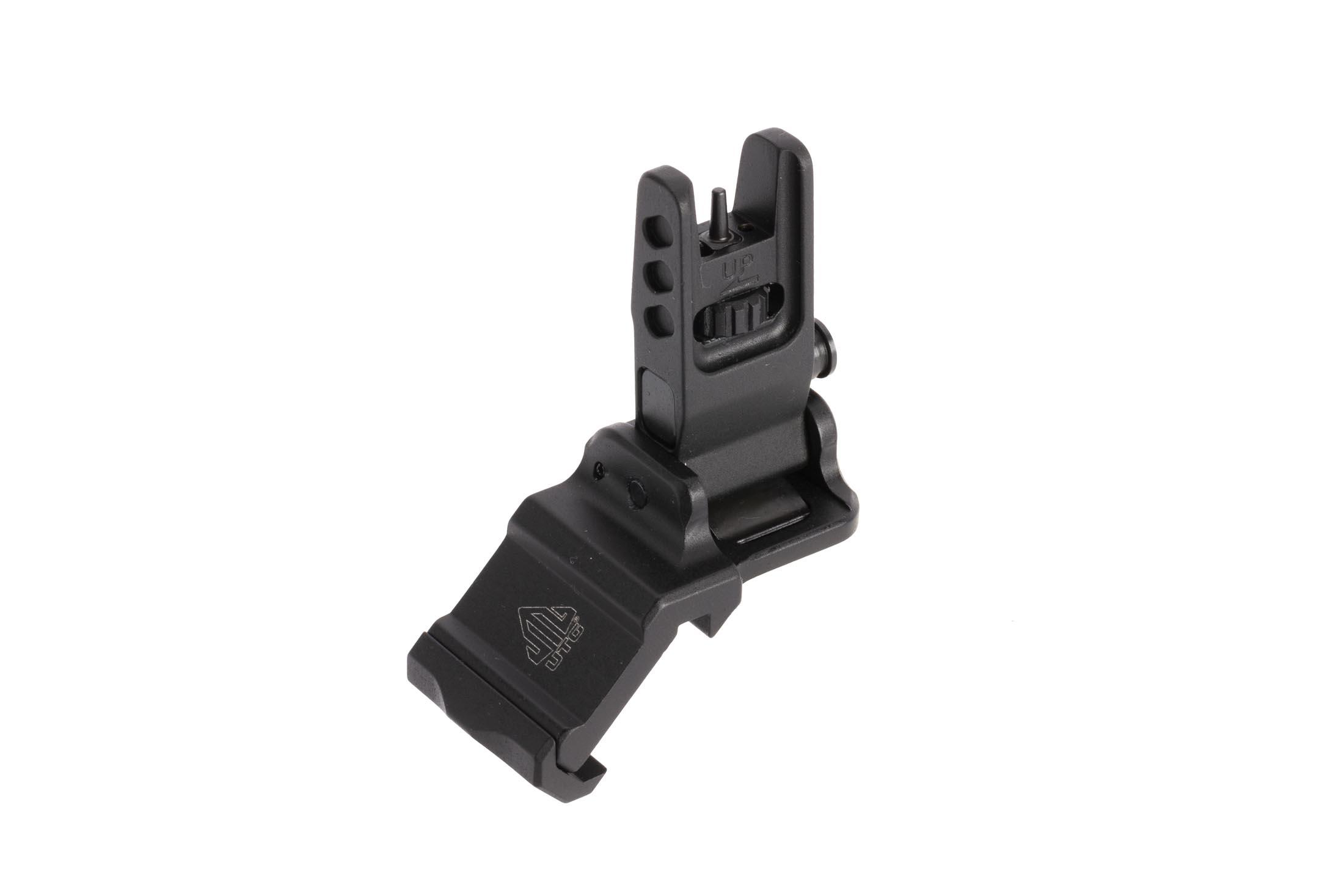 Leapers UTG ACCU-SYNC front sight installs easily to standard M1913 picatinny rails , ideal for right handed shooters.