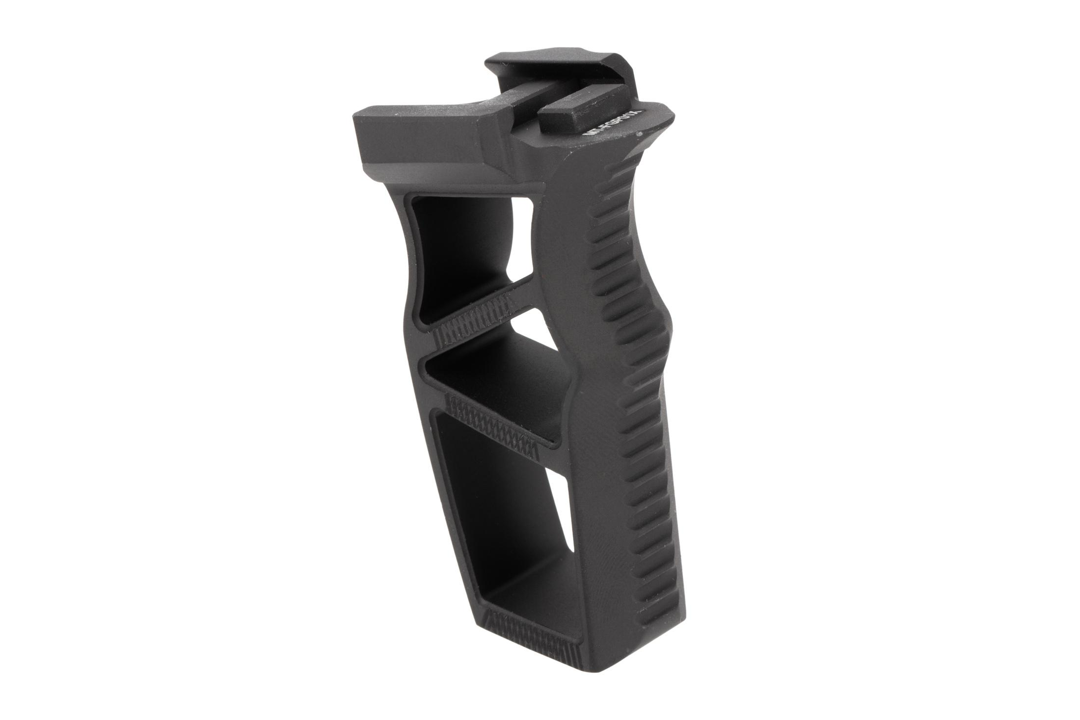 Leapers Ultra Slim picatinny foregrip in black machined from aluminum