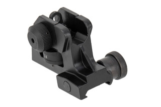 Aimsports fixed rear sight is made from aluminum