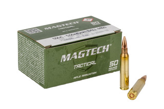 Magtech CBC 50-round box of 55-grain M193 specification 5.56 NATO ammunition for range and training.