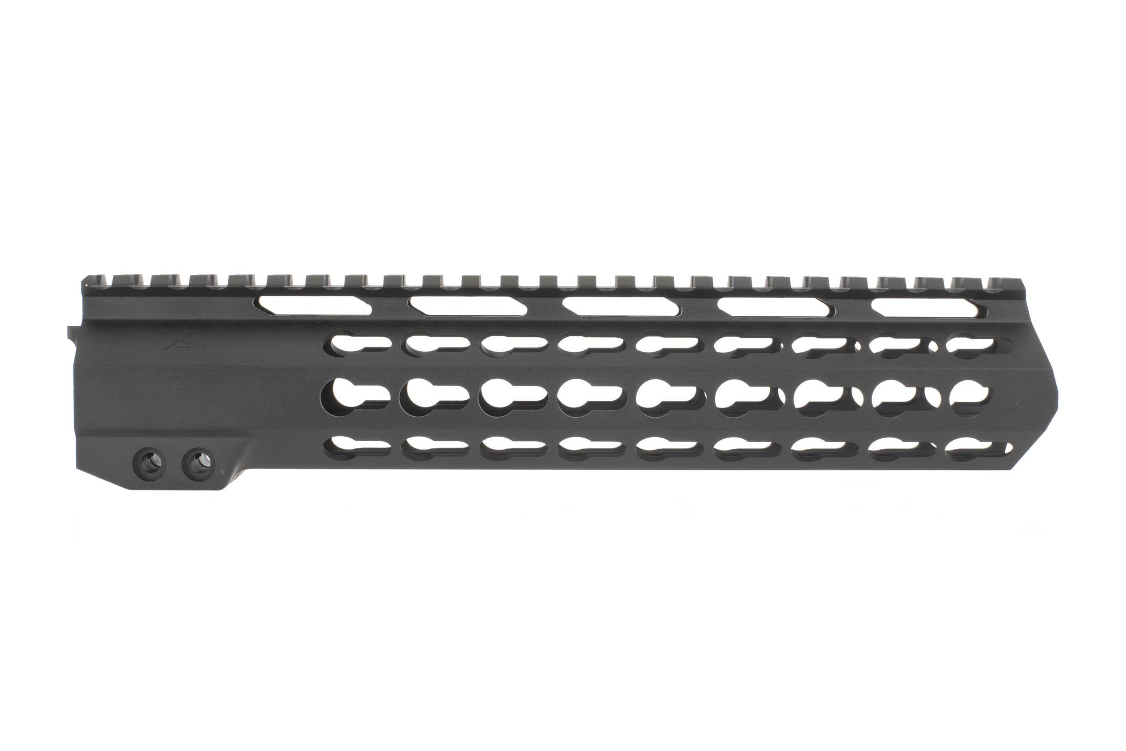 Aim Sports AR-15 Gen II 10in Free Float KeyMod Rail has a durable anodized black finish