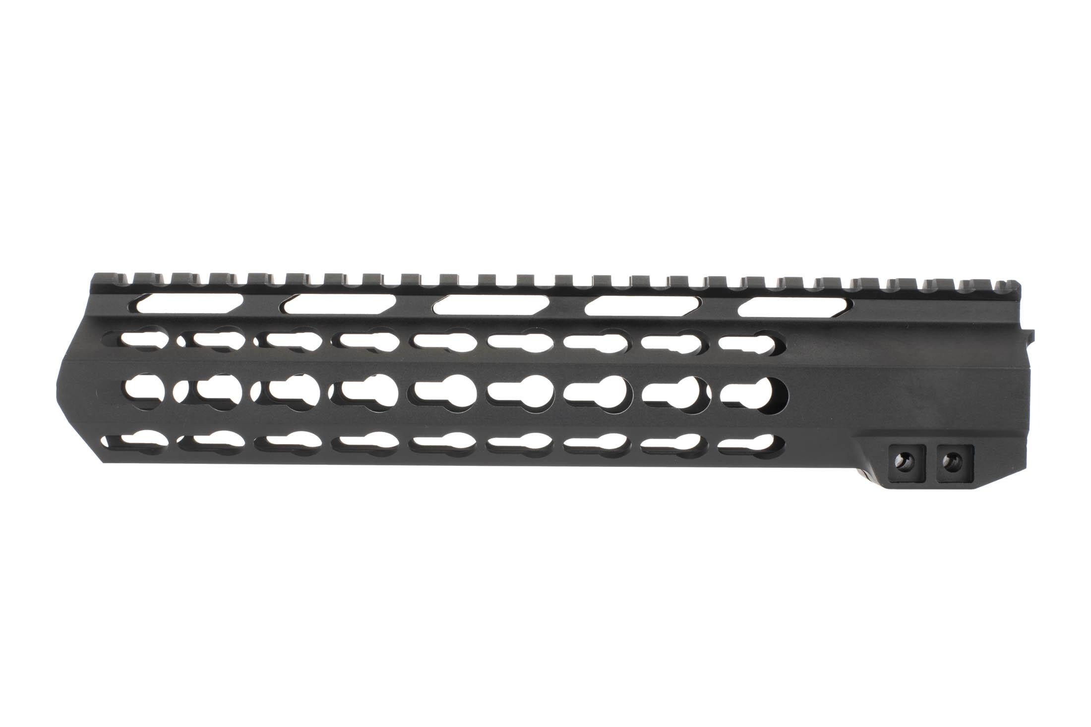 Aim Sports 10in free float KeyMod AR-15 Handguard features a 2nd generation mounting system for secure mounting