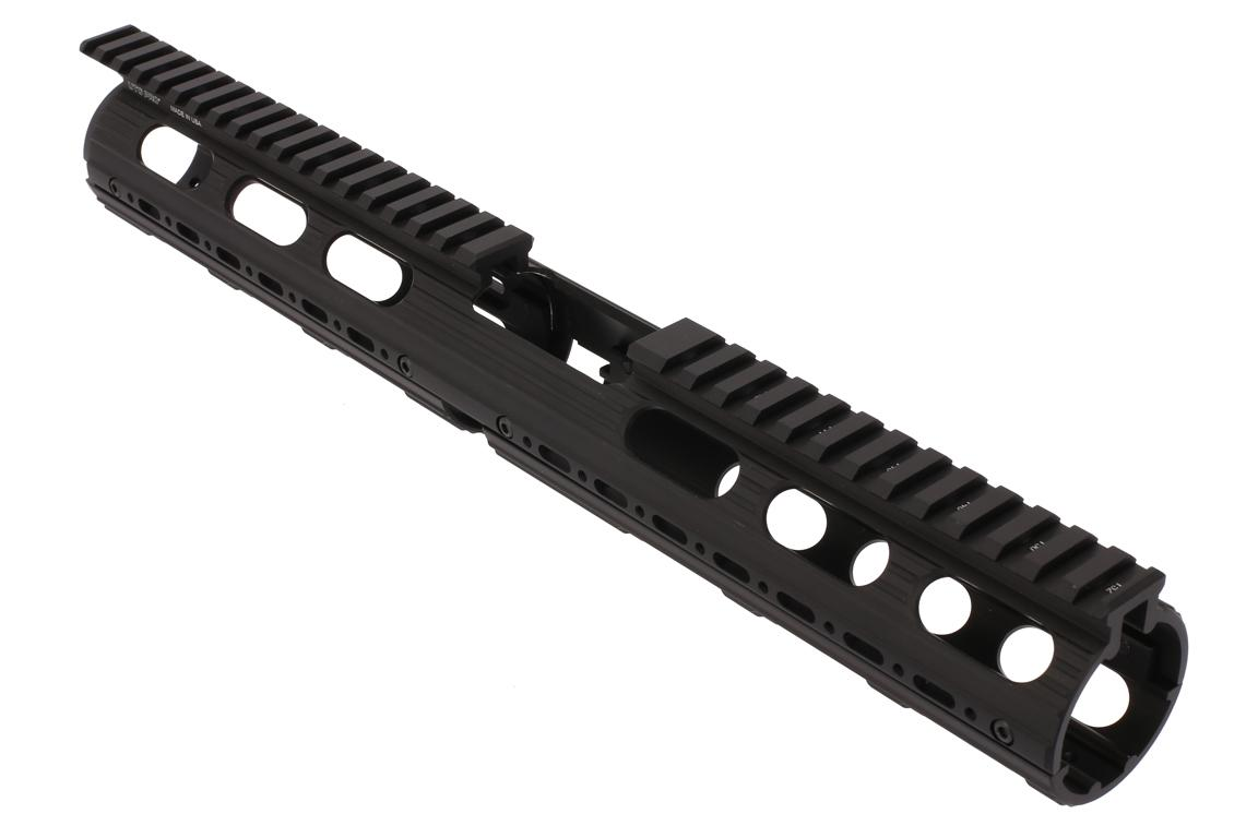 Leapers UTG PRO Model 4/15 Drop In Super Slim Extended Handguard - Carbine - Black