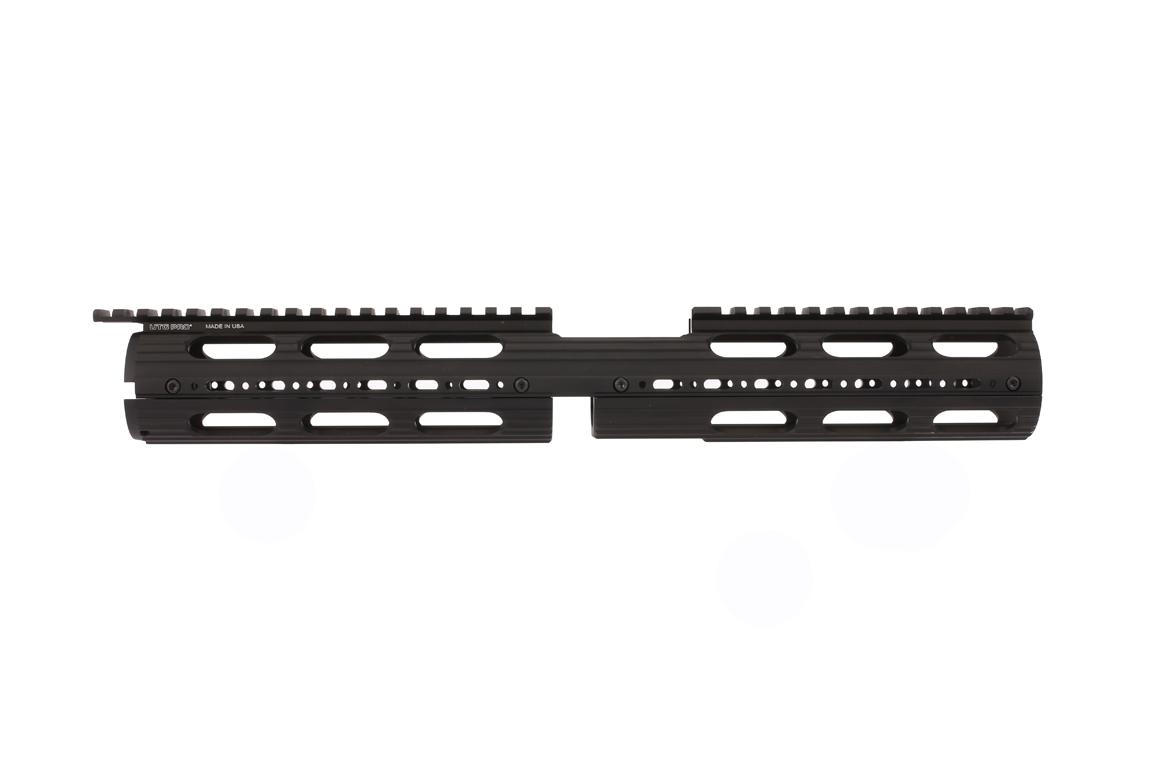 Leapers UTG PRO Model 4/15 Drop In Super Slim Extended Handguard with A2 front sight cut-out