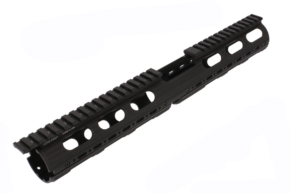 Leapers UTG PRO Model 4/15 Drop In Super Slim Extended Handguard with extended top rail