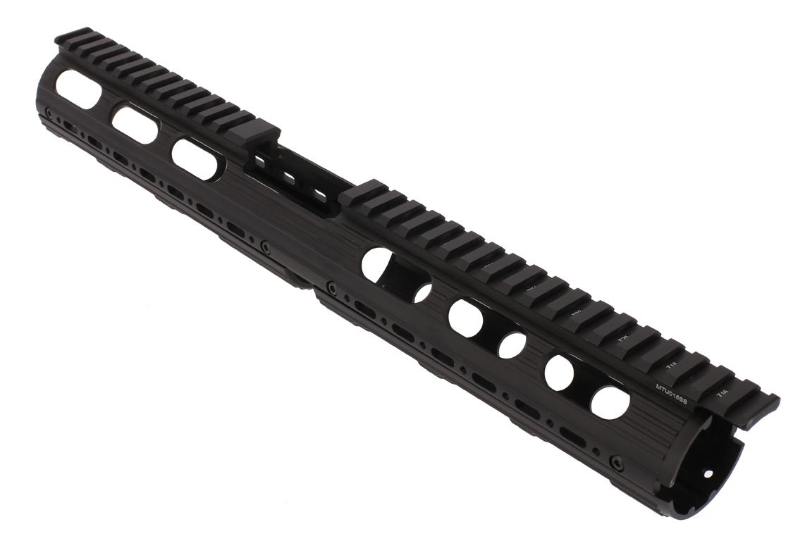 Leapers UTG PRO Model 4/15 Drop In Super Slim Extended Handguard weighs 8.6 ounces