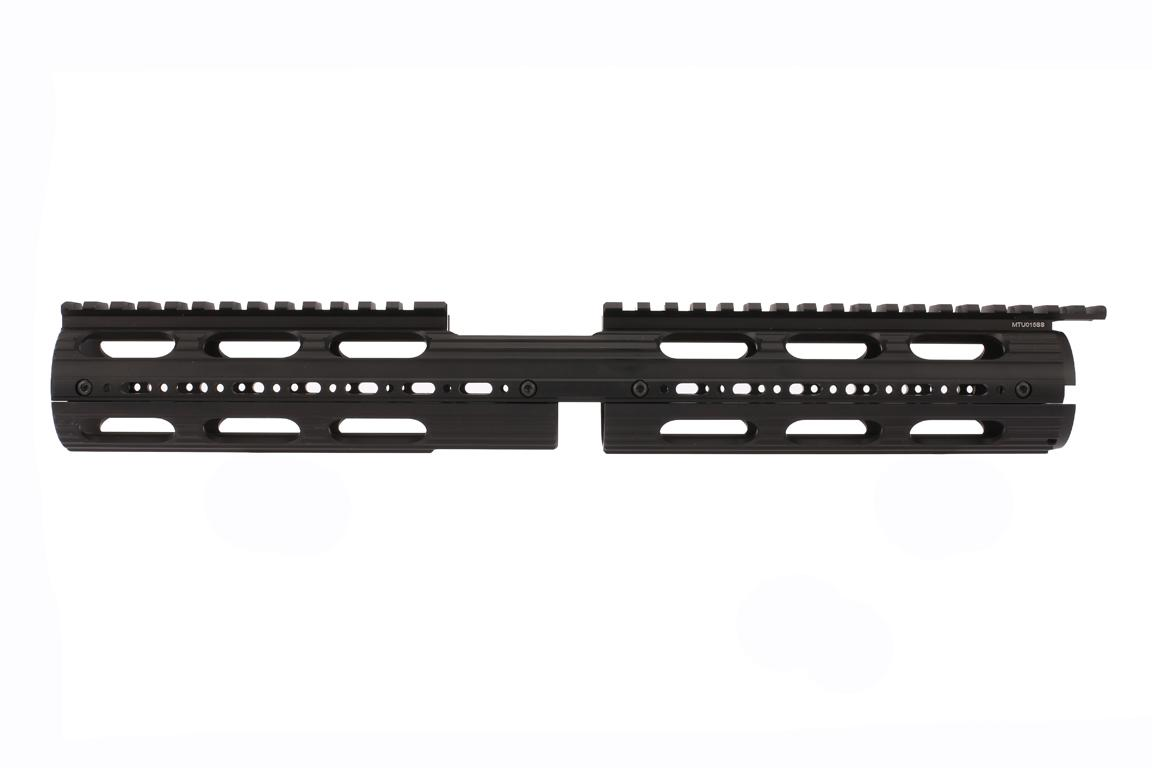 Leapers UTG PRO Model 4/15 Drop In Super Slim Extended Handguard is polymer