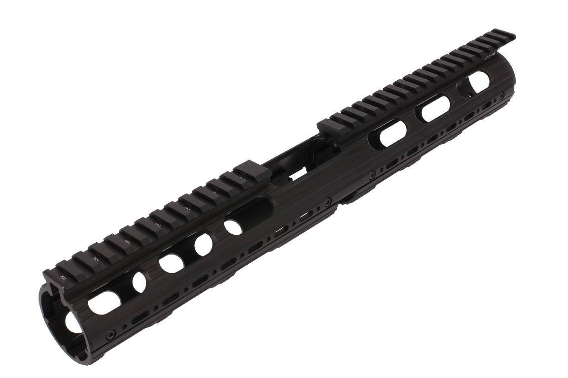 Leapers UTG PRO Model 4/15 Drop In Super Slim Extended Handguard with rail sections