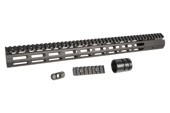 Super Slim Free Float M-LOK Handguard for ar-15 by leapers utg pro