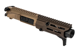 Maxim Defense PDX 7.62x39 AR15 complete upper receiver features an Arid anodized finish