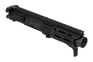 Maxim Defense PDX complete 7.62x39 upper receiver features a black anodized finish