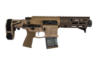 Maxim Defense PDX 300 Blackout Pistol features the SCW arm brace and adjustable buffer weight