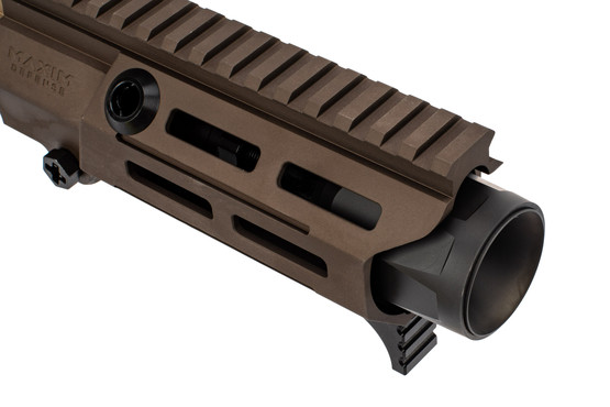 Maxim Defense PDX 300 blackout AR15 complete upper features the hatebrake muzzle brake