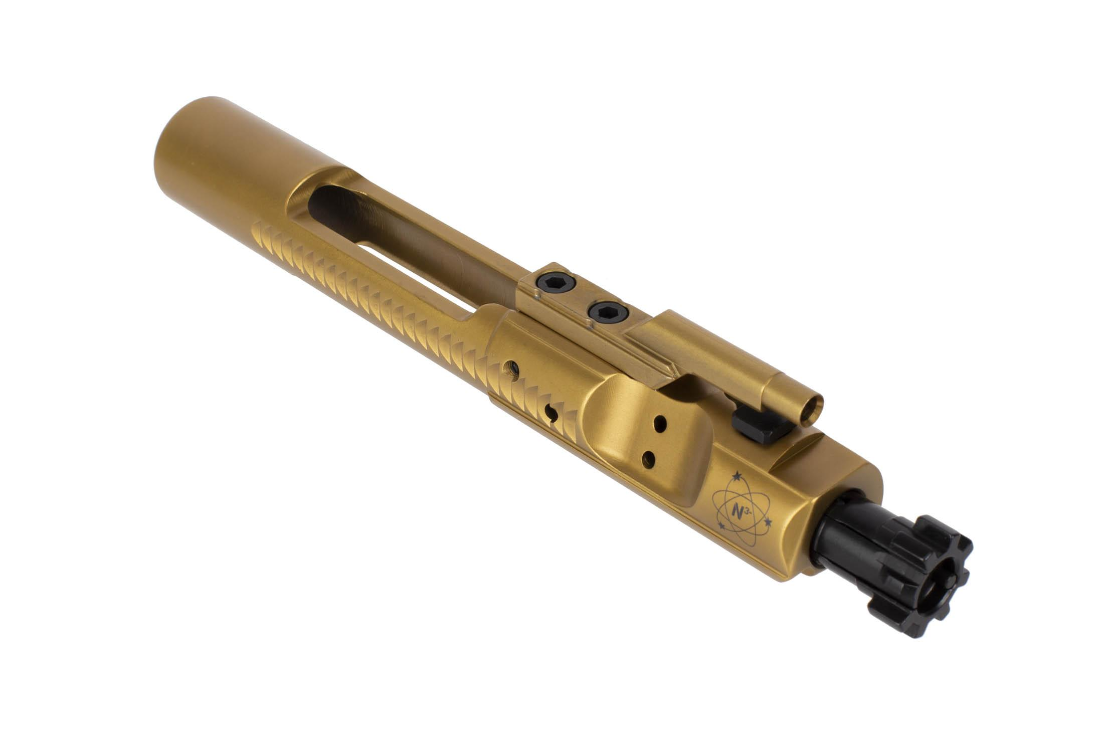Nitrid3 Syst3ms .223/5.56/300 BLK v2.0 Match Grade Bolt Carrier Group - TiN and Black Nitride