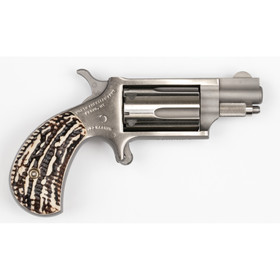 North American Arms 22 Mini revolver magnum features horn grips