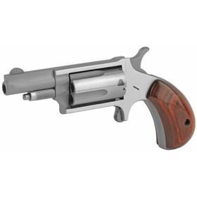 NAA 22 WMR Mini Revolver features fixed sights