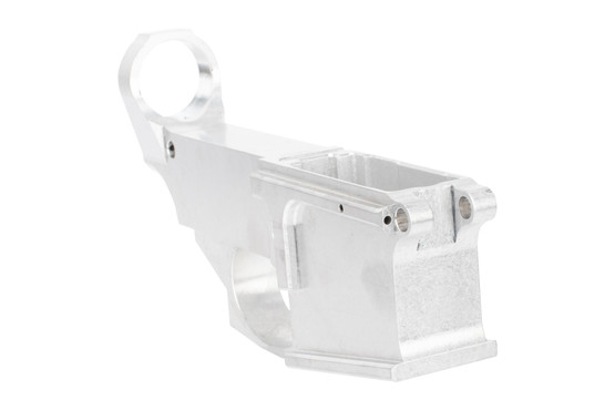 Noreen Firearms Billet 80% AR-15 lower receiver in the white