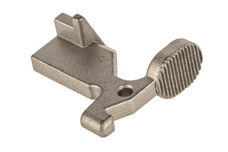 The WMD Guns Nickel Boron AR15 bolt catch is compatible with milspec lowers
